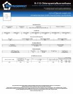 R-115 Chloropentafluoroethane